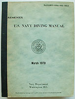 70 Navy Dive Manual