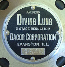 1956 Diving Lung